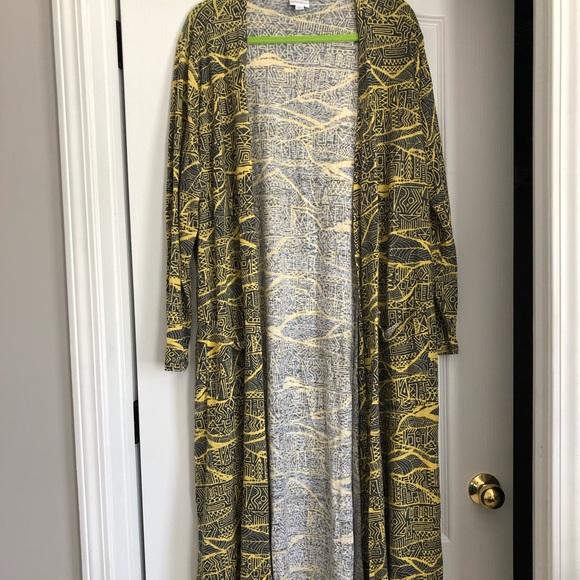 Used LuLaRoe long jacket